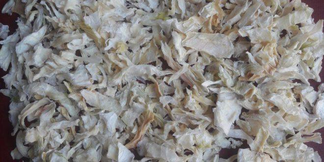 مصارف پیاز خشک در محصولات مختلف