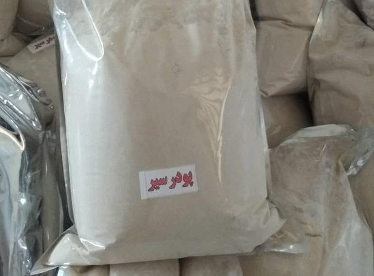 صادرات پودر سیر