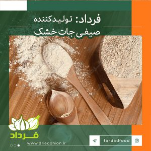 خرید بدون واسطه از کارخانه تولید پودر سیر در ایران