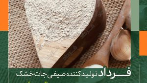مرکز تولید پودر سیر در شرکت فرداد